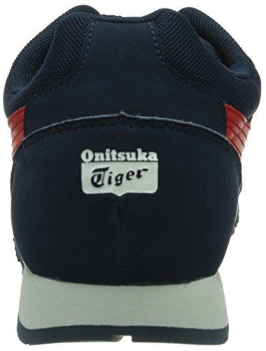 Onitsuka Tiger Curreo - Zapatillas Hombre Azul Oscuro / Rojo