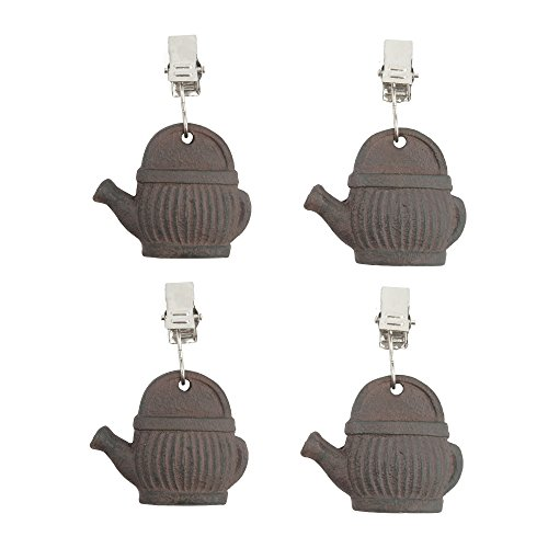 cast iron tablecloth weights - 5