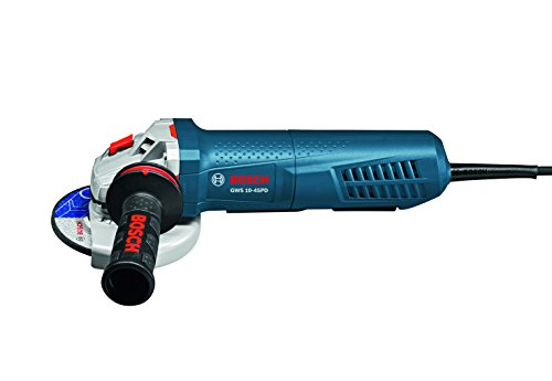 Bosch GWS10-45PD Angle Grinder with No-Lock-On Paddle Swi...
