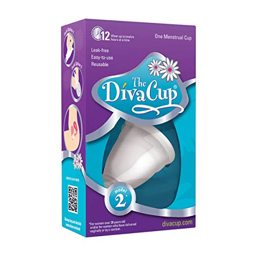 Mentrual Cups Model 2 (Large),for Women Over Age 30,or Those who Have Delivered vaginally or by caesarean Section regardless of Age.