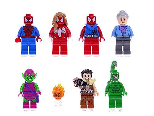all lego marvel minifigures - 6