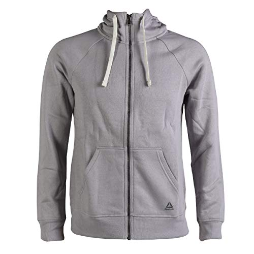 - Reebok Element Fleece Full Zip, Lavender Luck, Small