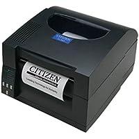 Citizen America CL-S521-E-GR-220 CL-S521 Direct Thermal Barcode PRINTER, 4.1 Print width, 203 Dpi Resolution, 6 IPS Print Speed, 220V, Dark Gray