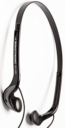SONXTRONIC Xdr-8000 Vertical in Ear Ultralight Sport Running Headband Headphones
