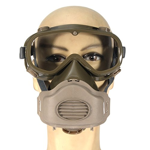 (Ship from US) Respirator Dust Mask Half Facepiece Reusable Paint Breathing Gas Protection from Neolifu