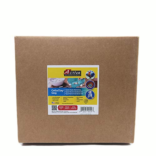 - Activa Celluclay Instant Papier-Mache - 24 lbs. - Gray