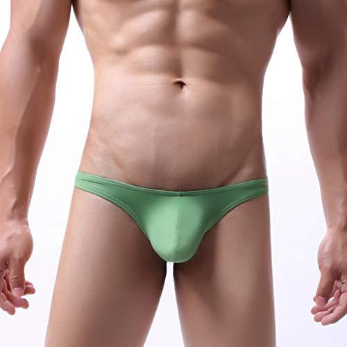 MIS1950s Men's Underpants Comfortable Sexy Transparent Soft Breathable Briefs Mens Lip Print Underwear Knickers