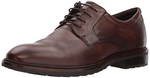 ECCO Men's Vitrus I Tie Oxford, Nature Plain Toe, 44 M EU (10-10.5 US) (Tie Toe Oxford)