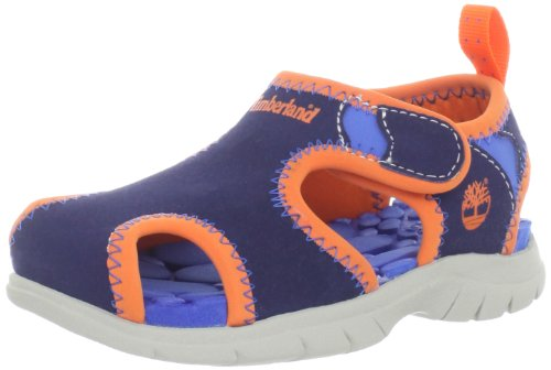 - Timberland Little Harbor Sandal (Toddler/Little Kid),Navy,6 M US Toddler