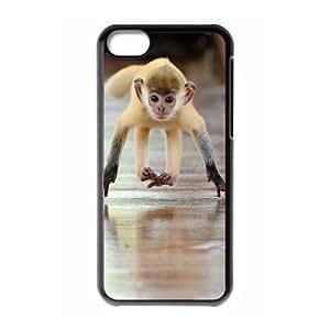 ALICASE Diy Hard Shell Case Monkey For Iphone 5C [Pattern-1]