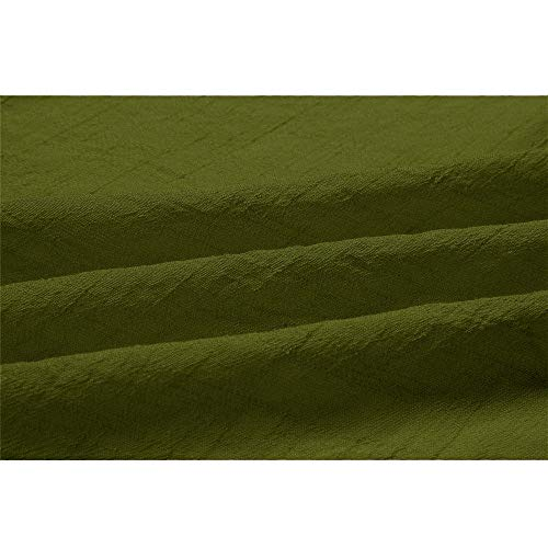 Hiver Tops Longues Longues Femme LaChe Women Manteau Manches Couleur for Manches Dames Chemisier Unie Vert DContract w17aBqCwc