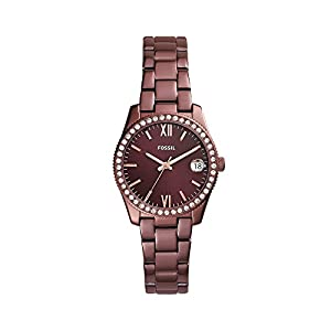 Fossil Women's Ionic Plate Small Round Face Watch