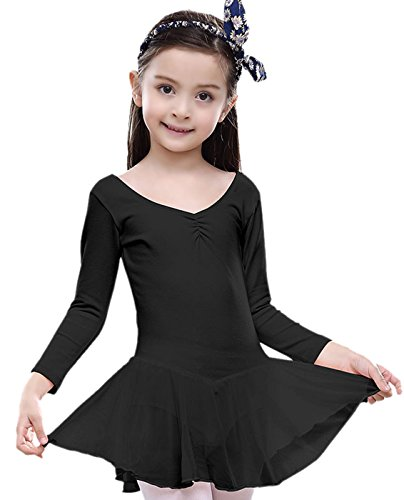 Girls Cute Ballet Dance Dress Gymnastics Leotard Costume Party Dress