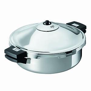 Kuhn Rikon Duromatic Family Style Pressure Cooker Braiser 5.3 Quart by Kuhn Rikon