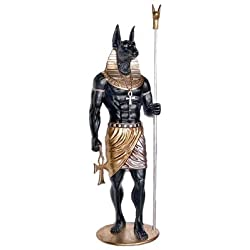 Design Toscano The Egyptian Grand Ruler Life-Size Anubis Statue