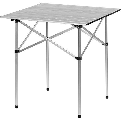 GRIZZLY-PYLE-Campingtisch-Aluminium-70x70x70cm-inkl-Tragetasche