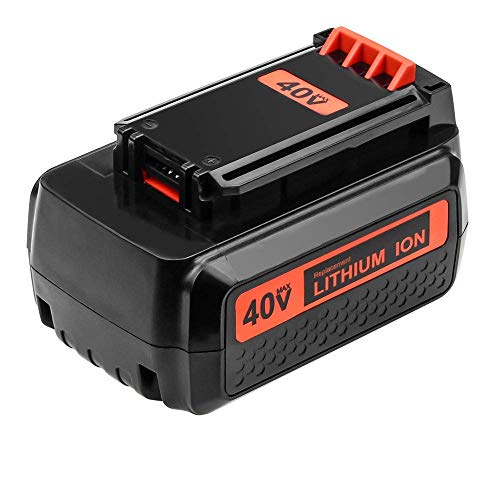 LBXR2036 2.5Ah Replace for Black and Decker 40V Battery Max LBX36 LBX2040 LBXR36 LBX2540 LBX1540 LST540 LCS1240 LBX1540 LST136W Series Cordless Power Tool