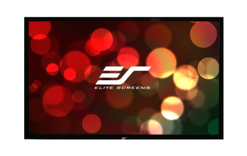 Elite Screens ezFrame Plus Series, 250-inch Diagonal 16:9, Fixed Frame Home Theater Projection Screen, Model: R250WH1 PLUS by Elite Screens