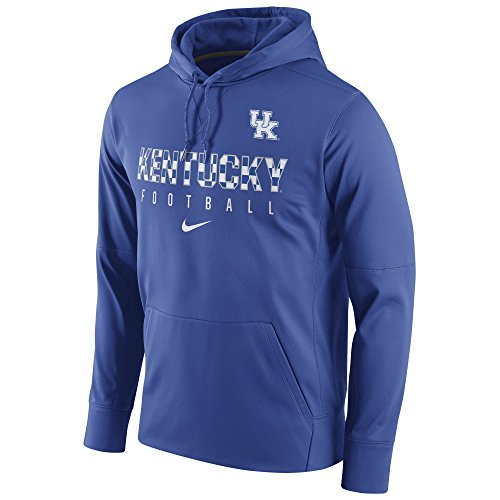 - Nike Men's Kentucky Circuit Performance Hoodie Royal Size X-Large