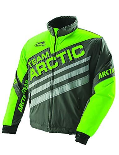 0f1760b9620 Arctic Cat Jacket Team Arctic Lime Gray M Xl