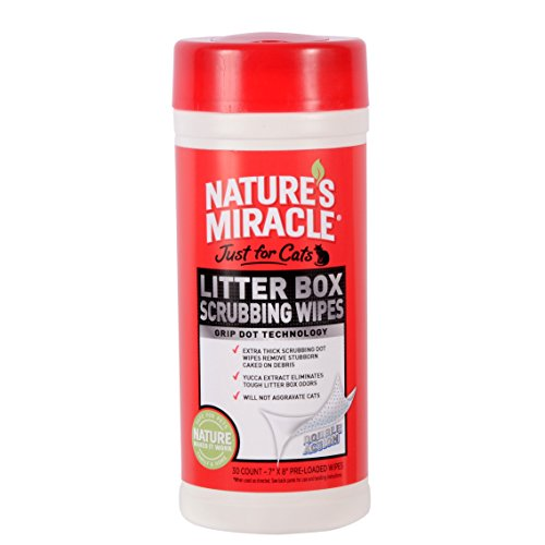Natures Miracle Litter Scrubbing NM 5574