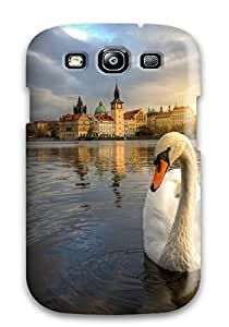 Top Quality Rugged Swan Case Cover For Galaxy S3