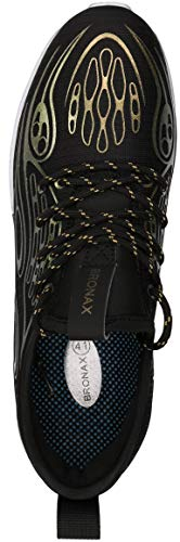 BRONAX Men's Stylish Graffiti Personality Sneakers