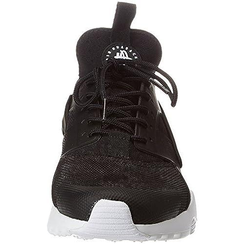 the best attitude d071a 67617 NIKE Air Huarache Run Ultra Men s Running Shoes Black White 819685-016 (10.5