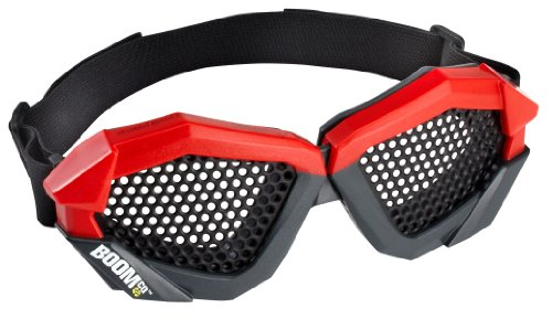 BOOMco. Eye Gear, Red (Wiz Nose)