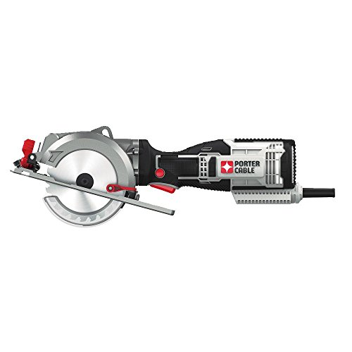 PORTER-CABLE 4-1 2-Inch Circular Saw, Compact, 5.5-Amp PCE381K