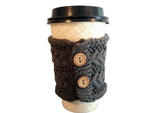 Hug Your Mug Cup Cozy, Reusable Coffee Sleeve Hand Protector Drink Grip for Paper Cups by Hug Your Mug (Image #3)