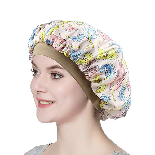 (Satin Night Cap Bonnet Perfect Hat for makeup Super Soft Hair Band)