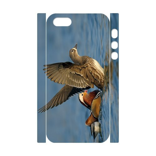 SYYCH Phone case Of Love Birds -Mandarin Duck Cover Case For iPhone 5,5S