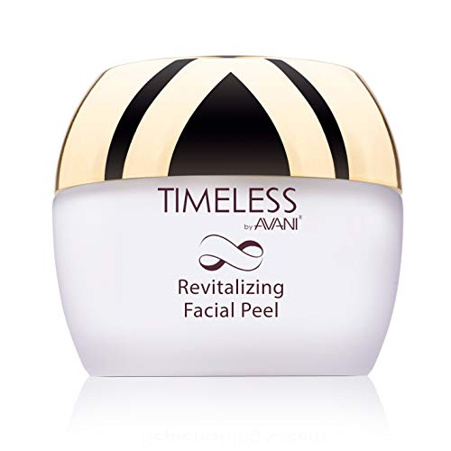 Timeless by AVANI Revitalizing Facial Peel | Enriched with Natural Plant Extracts and Vitamins E & C | Removes Dead Skin Cells, Excess Oil, Dirt, All Other Impurities - 1.7 fl. oz.