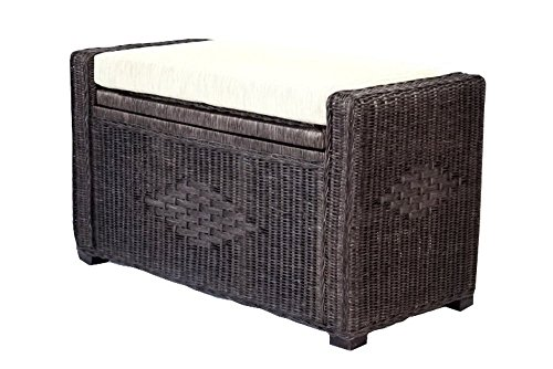 SunBear Furniture Handmade Rectangular Chest Ottoman Bruno 32