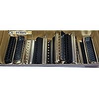 Pc Accessories - Connectors Pro 10-Pack DB25 Male D-Sub 25 Pins Crimp Type Connector, 10 Pcs PK