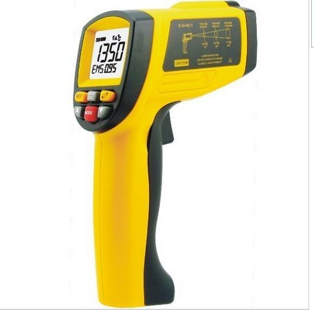 GOWE 200~1650 Celsius Infrared thermometer (D:S=50:1) Review
