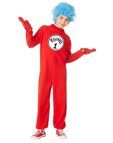 Spirit Halloween Kids Thing 1 and Thing 2 Costume - Dr. -
