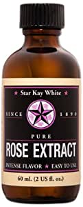 Star Kay White Extracts Pure Extract, Rose, 2 Ounce