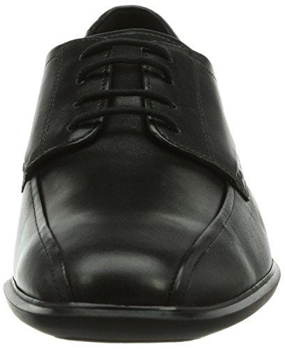 Mephisto-Chaussure Lacet-ELIE Noir cuir 4300-Homme