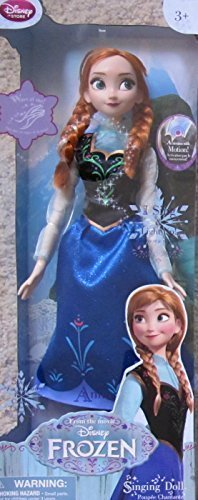FROZEN Motion Activated SINGING & LIGHT Up ANNA DOLL 16