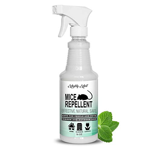 Mighty Mint - 16oz Peppermint Oil Mice Repellent Spray - Non Toxic