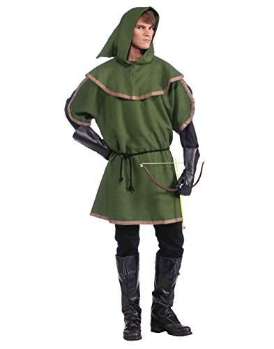 Archer Halloween Costumes (Forum Novelties Men's Sherwood Forest Archer Costume, Multi, One Size)
