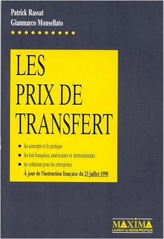 En ligne Les Prix de transfert epub pdf