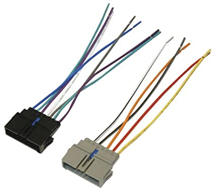 amazon com scosche cr01b power 4 speaker connector for chrysler 2006 chrysler wiring diagrams scosche cr01b power 4 speaker connector for chrysler, 1984 up