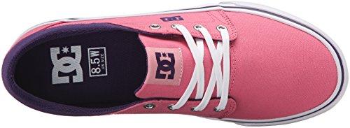 DC Frauen Trase TX Skate Schuh Pink / Boysenbeere
