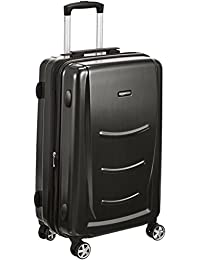 AmazonBasics Hardshell Spinner Luggage - 24-Inch, Black