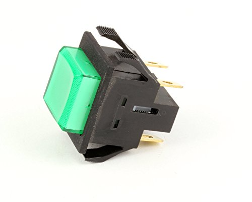 - Bunn 28296.0000 Lighted Momentary Push Button Switch for Hot Beverage Dispensers, Green