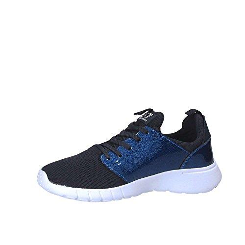 Emporio Armani EA7 Herrenschuhe Herren Schuhe Sneakers racer pack Schwarz Blau