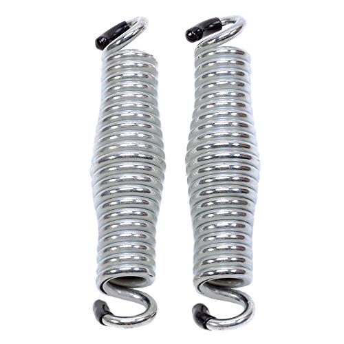 (Kingrol 2 Pack Barrel Shaped Hold up 600lbs Weight Capacity Hammock Chair Spring for Porch Swings and Hanging Chairs, 2